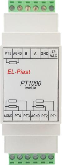 Moduły PT1000