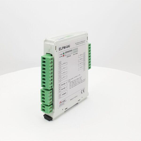 ELPM 8AI – Modul 8 wejsc analogowych - Dokumentacja techniczna / Wideo Tutoriale