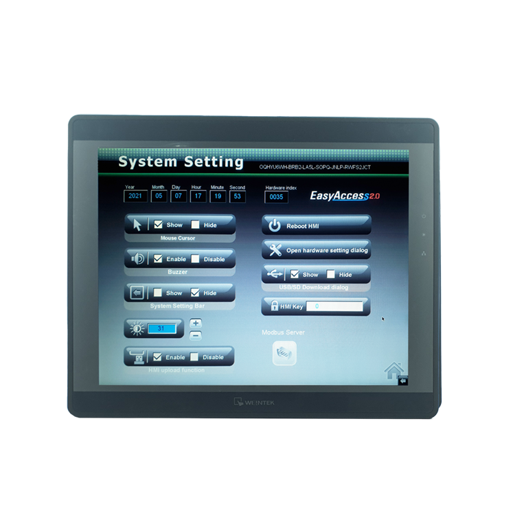 "Weintek 15"" komputer przemysłowy MT8150XE Display 15 inch TFT LCD_RAW_small"