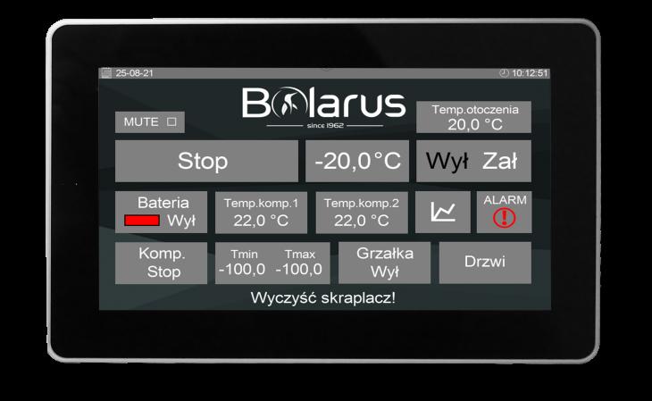 """EKRAN touch 7 BOLARUS pcifkga42d4yfi1q8vp5ub5bha098u8kt4yhlcra4q - ELP-HMI-Touch 7"""" - Dotykowy zadajnik z wbudowanym czujnikiem temperatury Biały"""